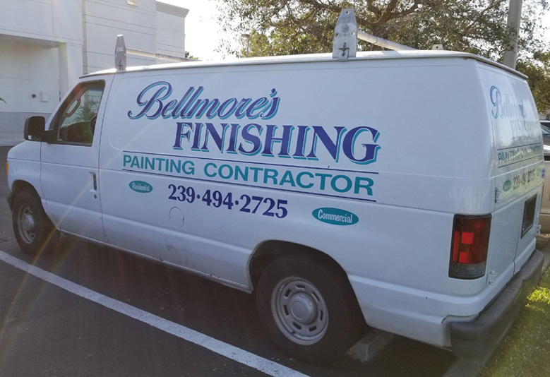 Painting Contractors Vehicle
