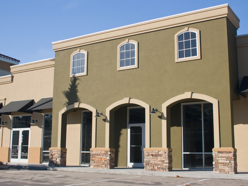 Exterior Paint Job Commercial Building