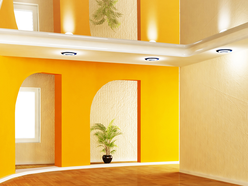 Commercial Interior Paint Work