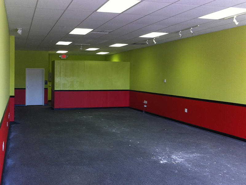 Commercial Interior Painting Job