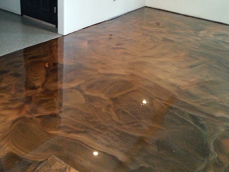 Epoxy Flooring with Design