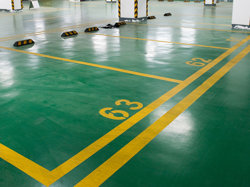 Epoxy Green Flooring