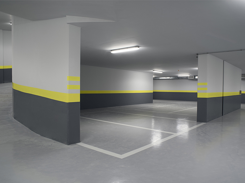 Parking Garage Epoxy Floor