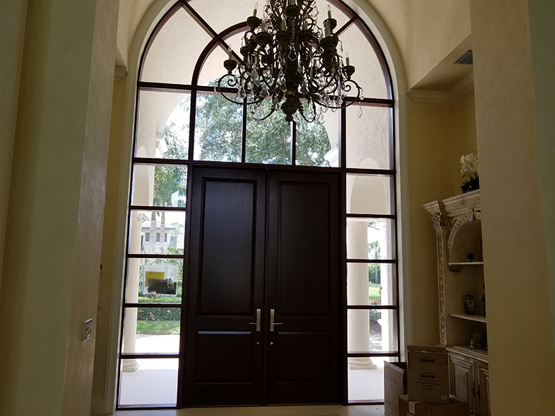 Refinished Front Door