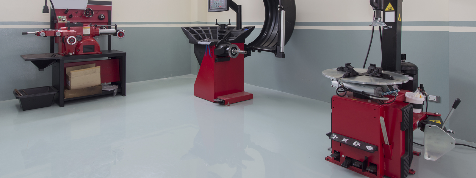 Epoxy Work Floor