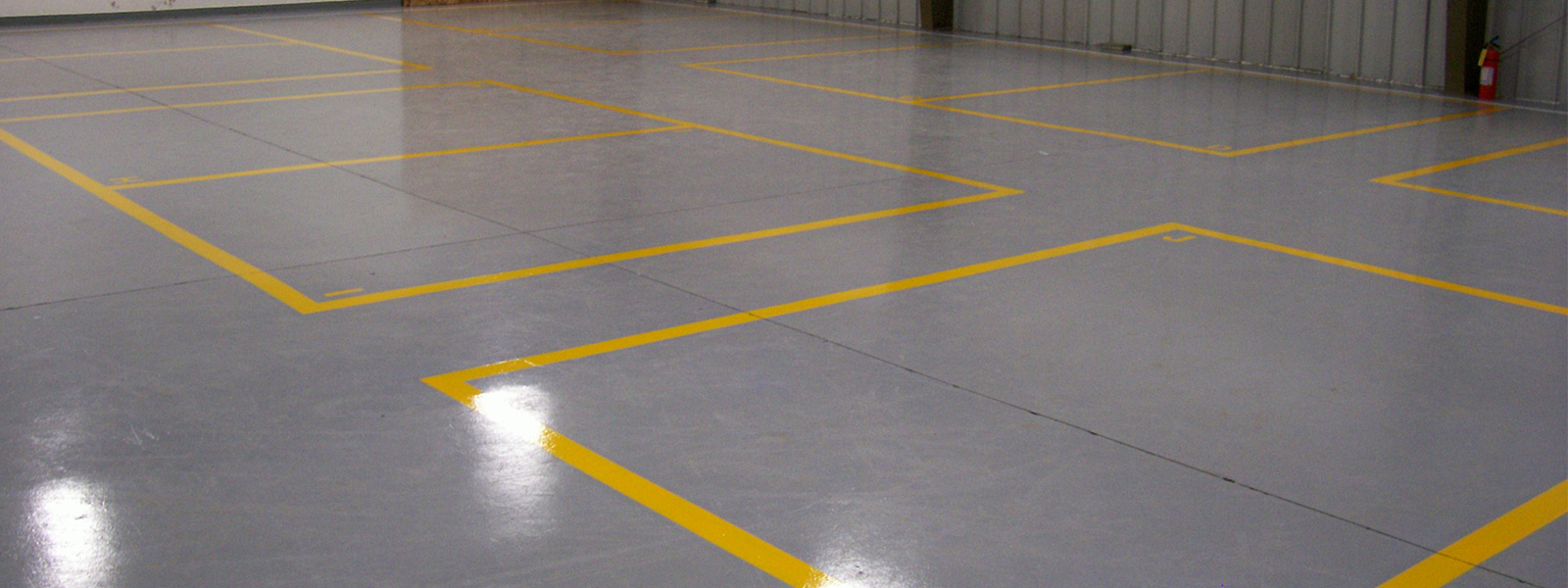 Grey Design Epoxy Garage Floor